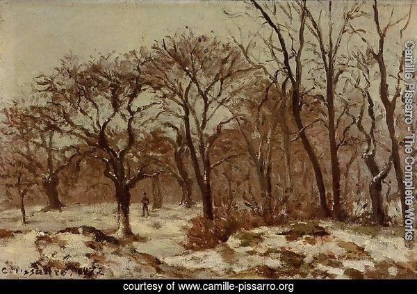 Chestnut Orchard in Winter 1872