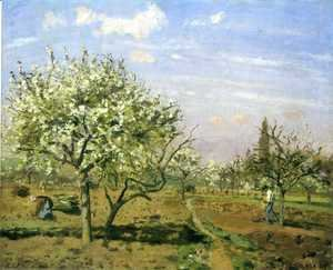 Orchard in Blossom Louveciennes 1872