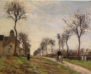 Road to Louveciennes  1870