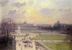 The Bassin des Tuileries  1900