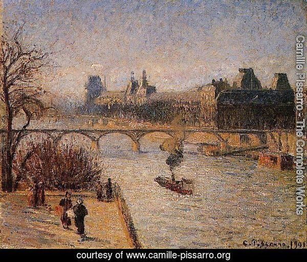 The Louvre2  1901