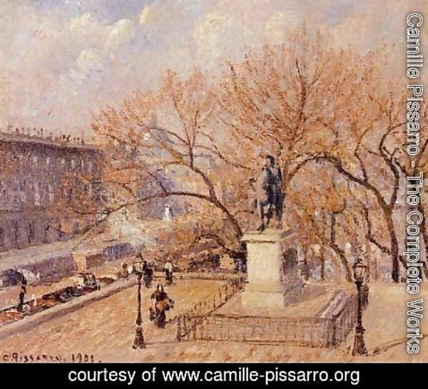 Camille Pissarro - The Pont-Neuf Afternoon Sun  1901