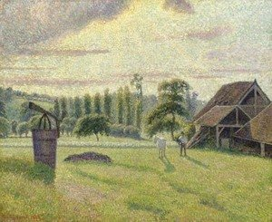 Camille Pissarro - Briqueterie Delafolie AAA'A  Eragny