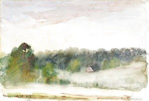 Camille Pissarro - Paysage a Eragny