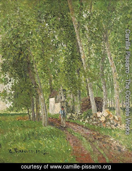 Camille Pissarro - Sous-bois AAA'A  Moret