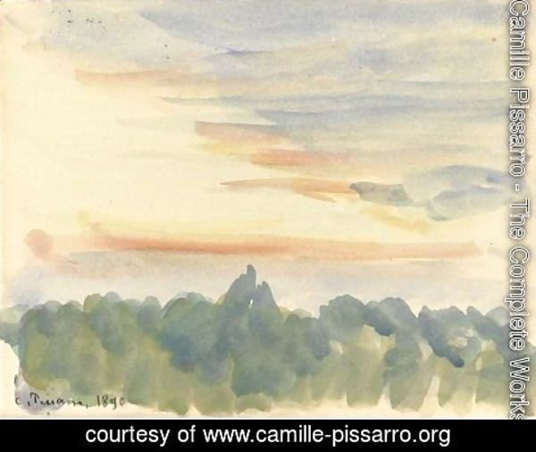 Camille Pissarro - Paysage 5