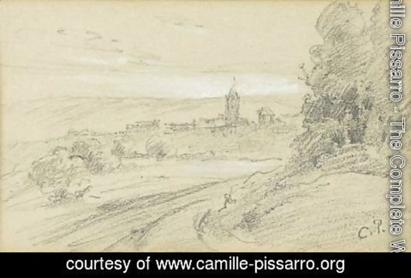Camille Pissarro - Paysage 6