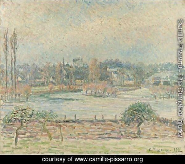 Camille Pissarro - The Complete Works - Vue De Bazincourt