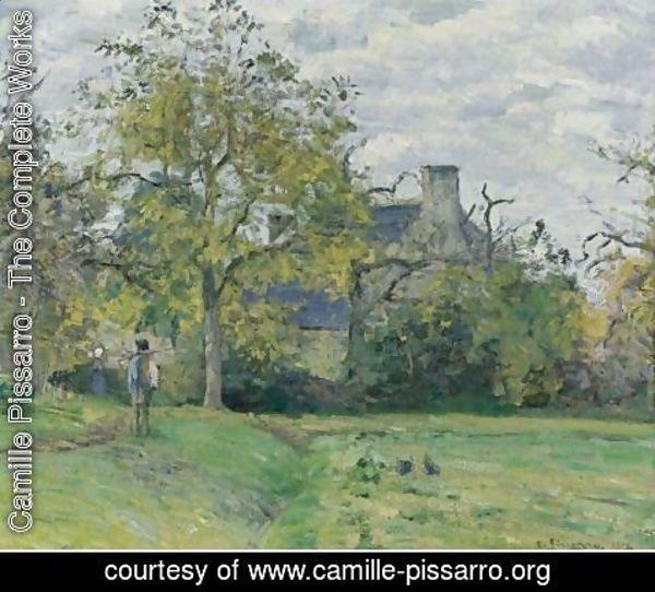 La Maison Complete camille pissarro - the complete works - la maison de piette a