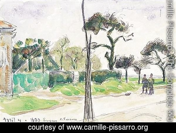 Camille Pissarro - Paysage 7