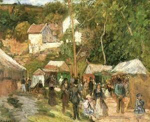 Fair at the Hermitage near Pontoise
