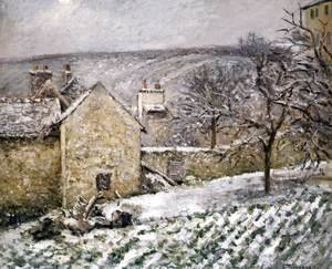 Snow at l'Hermitage, Pontoise
