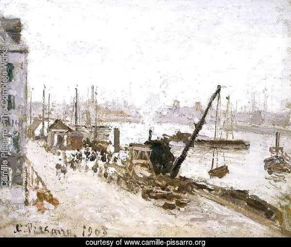 The Quay at Le Havre