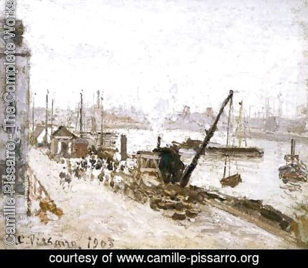 Camille Pissarro - The Quay at Le Havre