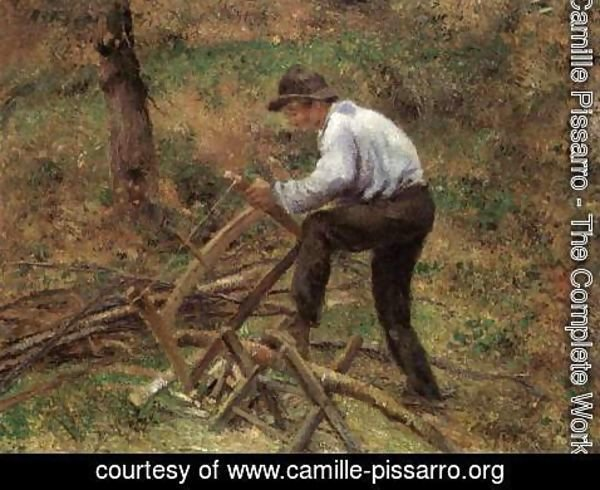 Camille Pissarro - The Woodcutter