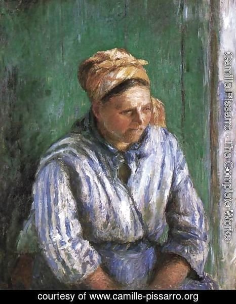 Camille Pissarro - Mre Larchevque (The Washerwoman)