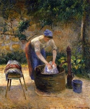 Camille Pissarro - The Laundry Woman 2