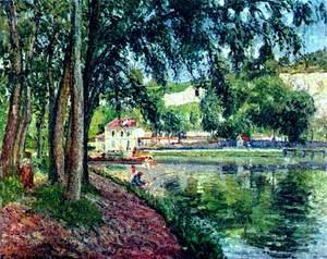 Camille Pissarro - Summer Fishing