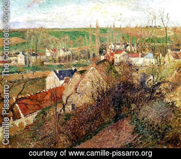 Camille Pissarro - View of Osny near Pontoise