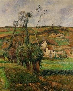 Camille Pissarro - The cabage place at Pontoise