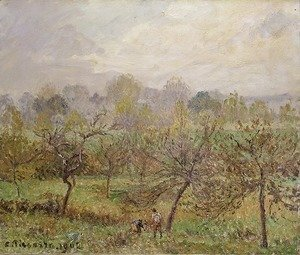Autumn, Morning Mist, Eragny-sur-Epte