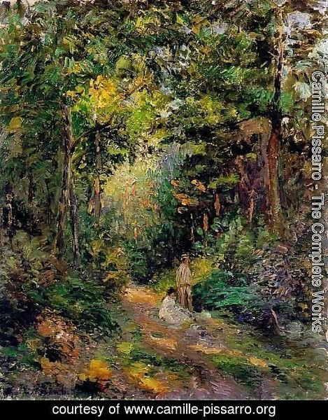 Camille Pissarro - Autumn, Path through the Woods