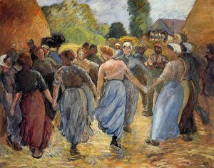 Camille Pissarro - The Roundelay