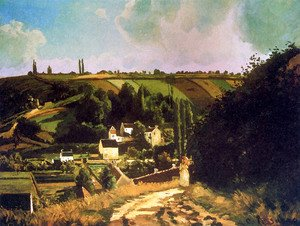 Camille Pissarro - Hill of Jallais at Pontoise