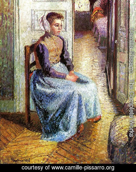 Camille Pissarro - Young Flemish maid