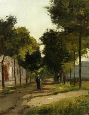 Camille Pissarro - The road 2
