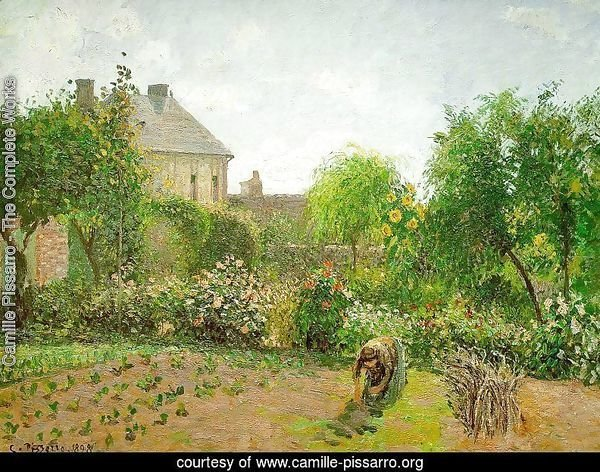 The Artist's Garden at Eragny 1898