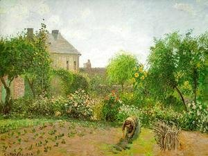 Camille Pissarro - The Artist's Garden at Eragny 1898