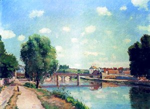 The Railway Bridge at Pontoise 1873