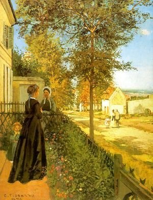 Louveciennes- The Road to Versailles 1870