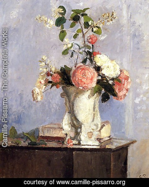 Camille Pissarro - Bouquet Of Flowers
