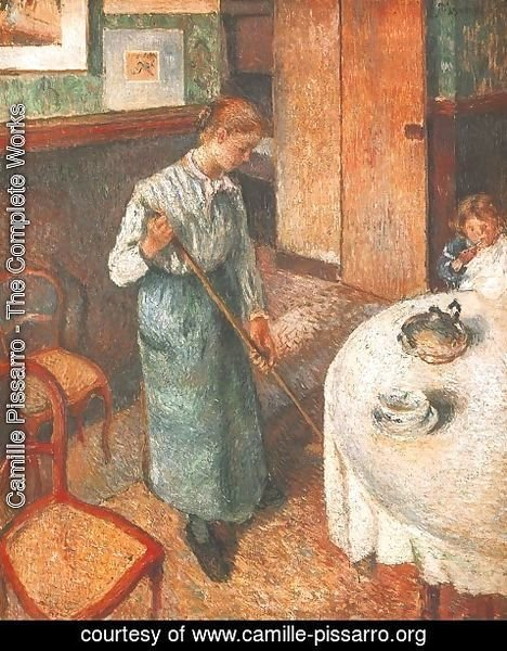 Camille Pissarro - Little Country Maid